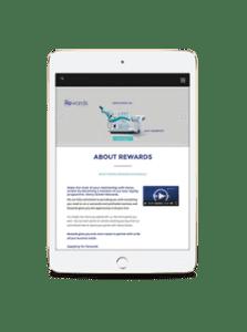 Rewards iPad