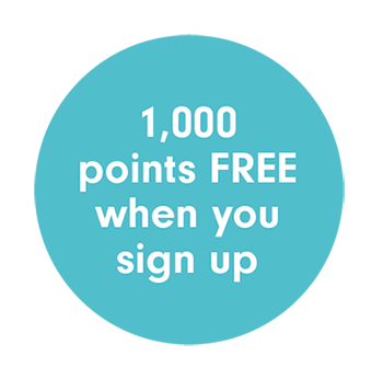 1000 points free